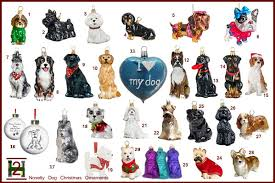 novelty ornaments dogs 2