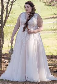 plus size bridal gowns plus size wedding dresses affordable and custom cocomelody
