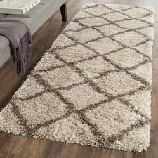 grey u0026 tan plush pile shag safavieh com