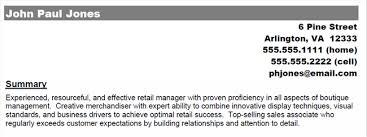 Resume Profile Section Download Professional Profile Resume Haadyaooverbayresort Com