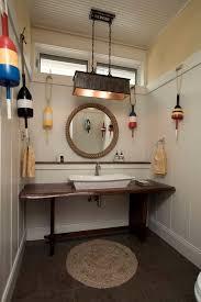 Nautical Bathroom Mirrors by Round Nautical Mirror Bathroom Beach Style With Beach Style Nickel
