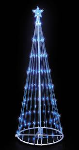 multi function christmas lights blue led light show christmas tree 9 effect multi function