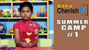 fun u0026 easy crafts with kids summer camp 1 kids cherish tv