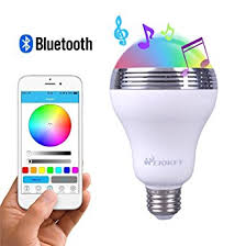 Bluetooth Light Bulb Speaker Heiokey Bluetooth Speaker Led Light Bulb Smart Led E26 Bulb With