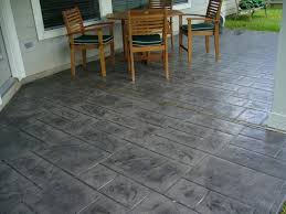 Dyed Concrete Patio by Stamped Concrete Patterns And Colors Concrete Front Entry