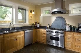 Blue Pearl Granite Kitchen Countertop Soapstone Backsplash From - Soapstone backsplash