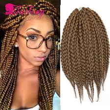 Black Hair Styles Extensions by Box Braids Hair 14
