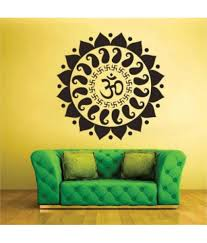 stickerskart black vinyl pooja room religious symbol mystic om stickerskart black vinyl pooja room religious symbol mystic om wall sticker