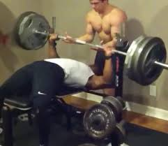 Life Fitness Bench Press Bar Weight Gym Fail Friday Here U0027s How To Nearly Decapitate Your Gym Partner