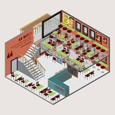 coffe shop coffee shop coffeeshop isometric building build