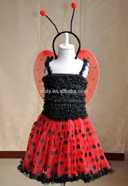 ladybug halloween costume most fashion style ladybug girls dress with wings halloween
