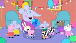 peppa pig edmond elephant u0027s birthday video dailymotion