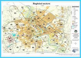 map of baghdad cool map of baghdad travelsmaps baghdad