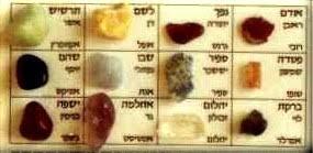 12 stones of ephod breastplate torah moshe 2 shemot exodus chapter 39