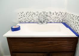 bathroom sink simple bathroom sink tile backsplash design ideas