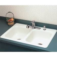 How To Clean A White Porcelain Kitchen Sink - White enamel kitchen sinks