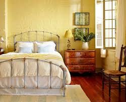 yellow adds a fuzzy sheen to the eclectic bedroom doc interior