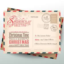 santa claus letters letters to santa claus vector free