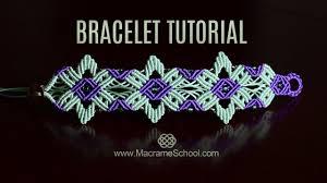 macrame flower bracelet images Star flower bracelet tutorial by macrame school jpg
