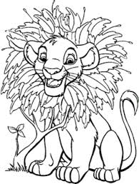 lion coloring pages free printable coloring pages kidsuki