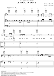 a fool in love a fool in love sheet music music for piano and more