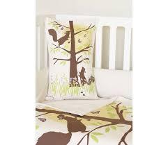 Organic Crib Bedding by Amenity Nursery Woodland Squirrel Crib Set Organic Crib Bedding