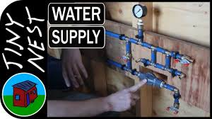 Plumbing A House by Tiny House Water Supply Plumbing Ep 31 Youtube