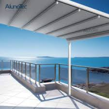 china retractable pergola patio with retractable fabric roof