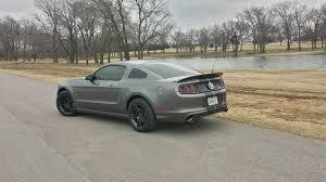 2010 Mustang Black Rims 2013 Sterling Grey Metallic 3 7l V6 2010 American Muscle Gloss