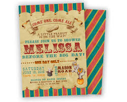 circus baby shower vintage circus baby shower invitation party print express