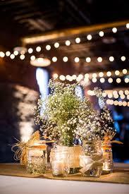 Rustic Mason Jar Centerpieces For Weddings by 193 Best Baby U0027s Breath Centerpieces U0026 Decor Images On Pinterest