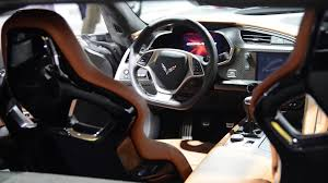 corvette stingray interior 2015 chevrolet corvette z06 interior u0026 details detroit 2014