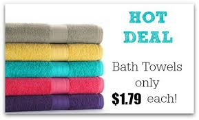 black friday kohls 2014 deal bath towels only 1 79 each at kohl u0027s reg 9 99