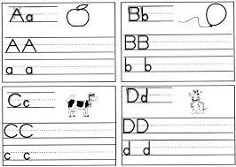 free worksheets alphabet tracing printable free math