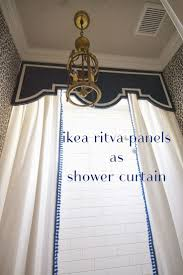 Large Shower Curtains Stunning Large Shower Curtain Hooks Gallery Best