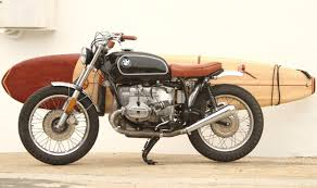 vintage bmw bmw motorcycle and surfboard combo defines style