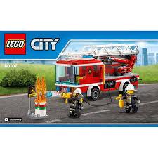 truck instructions fire ladder truck set 60107 instructions brick owl