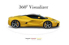 Visualizer Online Laferrari Visualizer Goes Online Ferrari Receives Double The