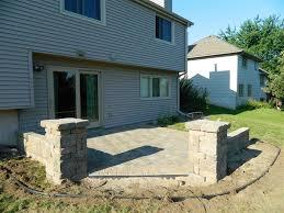 Paver Patio Ideas by Landscape Contractor Eagan Mn Devine Design Hardscapes