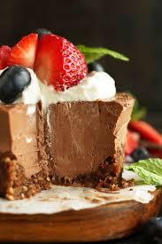 vegan chocolate cheesecake minimalist baker recipes