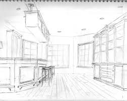 beautiful interior design drawings perspective collection draw a