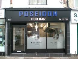 Fishbar Poseidon Fish Bar Leicester Elite Shopfitters Leeds