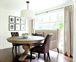 banquette with round table round dining table banquette seating curved oval design ideas m gray