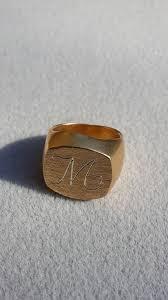 custom ring engraving custom ring personalized ring signet ring monogram ring