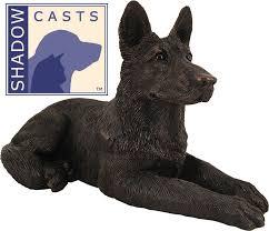 dog urns bronze german shepherd dog cremation pet urn