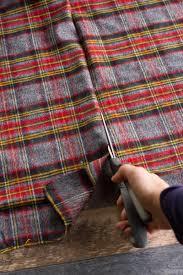 plaid tartan diy no sew flannel blanket scarf wholefully