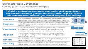 sap master data governance ppt video online download