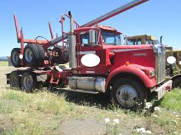 kenworth w900b 1992 kenworth w900 logging truck for sale 308 085 miles spokane