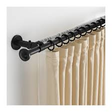 bastoni per tende moderne storslagen set bastone per tenda doppio ikea