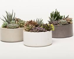 concrete bowl etsy